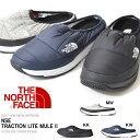 送料無料 ヌプシ スリッポン シューズ THE NORTH FACE ザ・ノースフェイス メンズ レディース NSE Traction Lite Mule II...