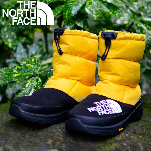 Nuptse Down Bootie ヌプシ ダウン ブーティー 送料無料 THE NORTH FACE ザ・ノースフェイス メンズ レディース ブーツ 靴 ダウン素材 防寒 撥水 ビッグロゴ nf51877 20%off