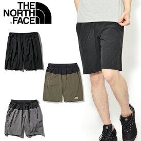 送料無料 ノースフェイス ショートパンツ THE NORTH FACE メンズ ストレッチ フレキシブルショーツ Flexible Short 2021春夏新色 短パン ハーフパンツ nb91775