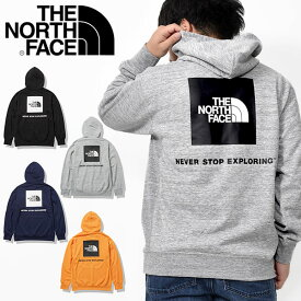送料無料 ノースフェイス パーカー メンズ THE NORTH FACE バック スクエア ロゴ フーディー Back Square Logo Hoodie 裏毛 スウェット プルオーバー 2021春新作 nt12142