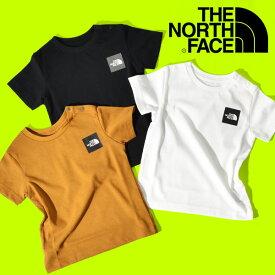 ザ・ノースフェイス 半袖Tシャツ ベビー キッズ THE NORTH FACE B S/S Small Square Logo Tee ショートスリーブ スモール スクエア ロゴ ティー 2021春夏新作 ntb32141