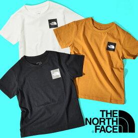 ザ・ノースフェイス キッズ 半袖Tシャツ THE NORTH FACE 子供 S/S Small Square Logo Tee ショートスリーブ スモール スクエア ロゴ ティー 2021春夏新作 ntj32141