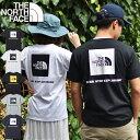 送料無料 ノースフェイス Tシャツ メンズ 半袖 生地厚 THE NORTH FACE ショートスリーブ バック スクエア ロゴ ティー…