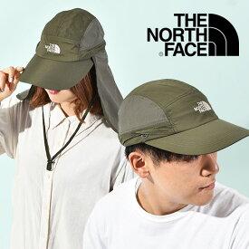 送料無料 ザ・ノースフェイス キャップ メンズ レディース THE NORTH FACE Sunshield Cap サンシールド キャップ UVカット 2021春夏新作 防虫 紫外線防止 アウトドア 帽子 nn02104