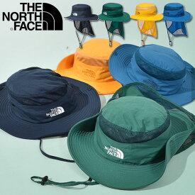 送料無料 ノースフェイス UVカット ハット キッズ THE NORTH FACE Kids Sunshield Hat サンシールド ハット 帽子 2021春夏新色 子供 撥水 紫外線 日差し防止 サンシェード nnj02007