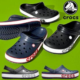 40%off 送料無料 クロックス サンダル メンズ レディース 日本正規品 CROCS クロックバンド ボールド ロゴ クロッグ クロッグサンダル シューズ 靴 ビッグロゴ Crocband Bold Logo Clog 206021 【あす楽対応】