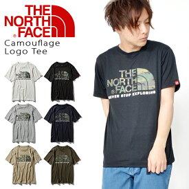 半袖 Tシャツ ザ・ノースフェイス THE NORTH FACE Camouflage Logo Tee カモフラージュロゴ メンズ ビッグロゴ 迷彩柄 カモ柄 カジュアル アウトドア 2019春夏新作 nt31932 ザ ノースフェイス