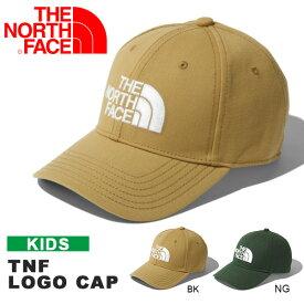 キャップ ザ・ノースフェイス THE NORTH FACE TNF Logo Cap キッズ TNFロゴキャップ 帽子 子供 遠足 紫外線防止 2019秋冬新色 日よけ nnj41850