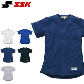 SSK エスエスケイ 半袖 無地メッシュシャツ メンズ ユニフォーム 野球 ベースボール 半袖シャツ スポーツウェア ベースボールシャツ US0001M 得割25