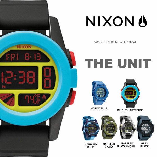 送料無料 ニクソン NIXON ユニット THE UNIT 日本正規品 腕時計 リストウォッチ メンズ レディース スケートボード カジュアル ストリート サーフ アウトドア ウォッチ