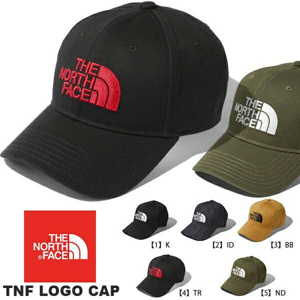 キャップ ザ・ノースフェイス THE NORTH FACE ロゴ キャップ TNF LOGO CAP 帽子 フリーサイズ 2018秋冬新色 ロゴ刺繍 スナップバック nn01830