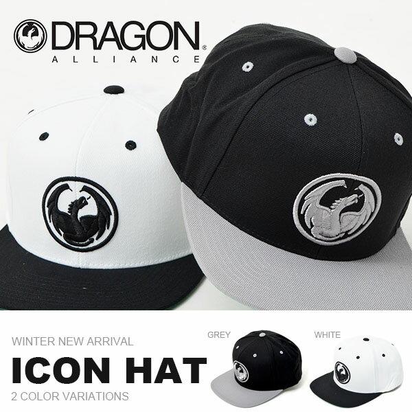 キャップ DRAGON ドラゴン メンズ ICON HAT ロゴ CAP 帽子 ぼうし スナップバック 平つば カジュアル アメカジ スケートボード ストリート 得割30
