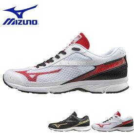 送料無料 ランニングシューズ ミズノ MIZUNO ラッシュアップ2 メンズ レディース RUSH UP 2 初心者 ビギナー ランニング ジョギング トレーニング ランシュー 運動靴 シューズ 靴 部活 クラブ