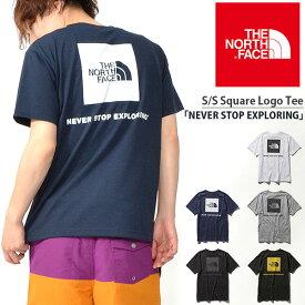 スクエア ロゴ 半袖Tシャツ THE NORTH FACE ザ・ノースフェイス メンズ バックプリント S/S Square Logo Tee ショートスリーブスクエアロゴティー 2019春夏新作 nt31957 速乾