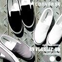 【得割25】 スリッポン コンバース CONVERSE メンズ レディース CV VLC SLIP-ON スリップオン スニーカー シューズ 靴 キャンバス フ...