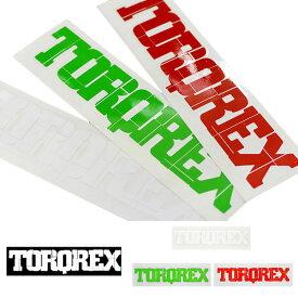 ゆうパケット対応可能! ステッカー ロゴ トルクレックスロゴ 大 Lサイズ 28cm×5.2cm TORQREX トルクレックス STICKERS カッティング シール スノボ スノーボード スノー 日本正規品