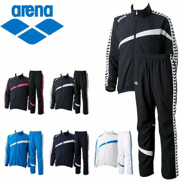 送料無料 ウインドブレーカー 上下セット アリーナ arena ウィンドジャケット ロングパンツ メンズ レディース ナイロン スポーツウェア 水泳 スイミング トレーニング ウェア ARN-6300 ARN-6301P