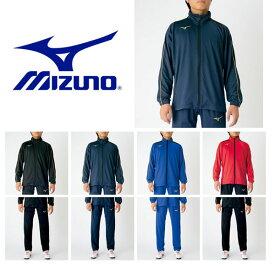 送料無料 ジュニア ジャージ 上下セット ミズノ MIZUNO キッズ 子供 ウォームアップシャツ パンツ 上下組 スポーツウェア トレーニング ウェア P2MC7170 P2MD7170