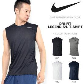 ナイキ NIKE メンズ ドライフィット レジェンド S/L Tシャツ ノースリーブ トレーニングシャツ スポーツウェア ランニング ジョギング ジム トレーニング フィットネス スポーツ シャツ ウェア 20%OFF