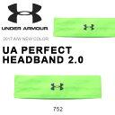 数量限定 ヘアバンド アンダーアーマー UNDER ARMOUR UA PERFECT HEADBAND 2.0 メンズ レディース スポーツ バンド ヘッドバ...