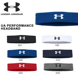 得割30 ヘアバンド アンダーアーマー UNDER ARMOUR UA PERFORMANCE HEADBAND メンズ レディース スポーツ バンド ヘッドバンド ヘアゴム 2017秋冬新色 1276990