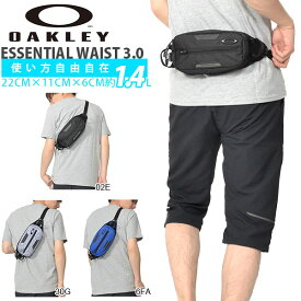 ボディバッグ OAKLEY オークリー メンズ ESSENTIAL WAIST 3.0 1.4L ウエストバッグ ウエストポーチ スポーツ アウトドア 得割30