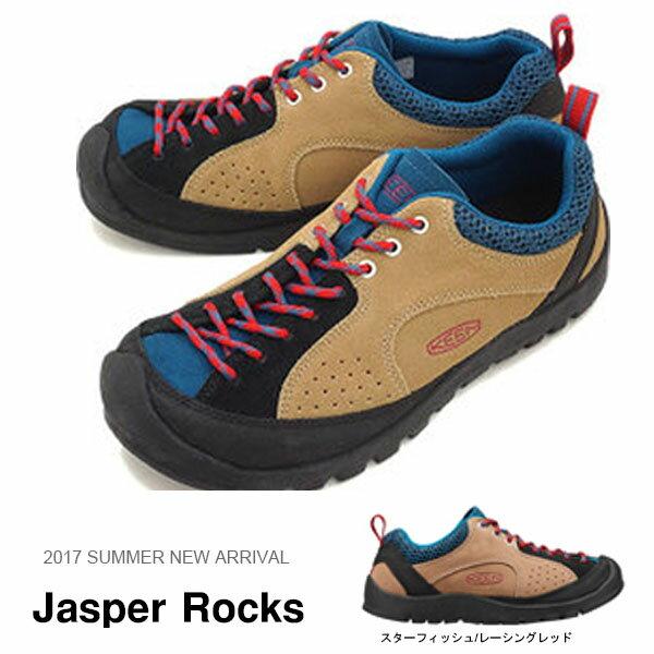 現品限り 送料無料 アウトドア スニーカー キーン KEEN メンズ ジャスパー ロックス シューズ 靴 スウェード スエード ハイキング 登山 クライミング Jasper Rocks 2017夏新色