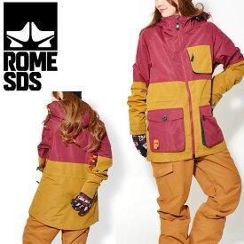 送料無料 スノーボードウェア ROME SDS ローム レディース ASTOR JACKET ジャケット スノボウェア スノーウエア スノーボード スノボ スキー ウェア 35%off