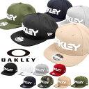 送料無料 ロゴ キャップ OAKLEY × NEW ERA オークリー メンズ MARK II NOVELTY SNAP BACK ニューエラ コラボ 帽子 CA…