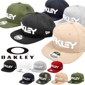 ロゴ キャップ OAKLEY × NEW ERA オークリー メンズ MARK II NOVELTY SNAP BACK ニューエラ コラボ 帽子 CAP 帽子 スナップバック ストリート スケートボード アウトドア 得割27