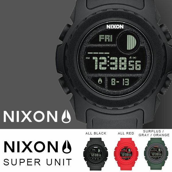 送料無料 ニクソン NIXON スーパーユニット THE SUPER UNIT 日本正規品 腕時計 リストウォッチ メンズ レディース スケートボード カジュアル ストリート サーフ アウトドア ウォッチ