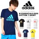 半袖 アディダス adidas M ESSENTIALS BOS コットン Tシャツ メンズ ビッグロゴ ランニング ジョギング トレーニング …