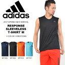 ノースリーブ アディダス adidas RESPONSE スリーブレスTシャツM メンズ ランニング ジョギング マラソン トレーニング スポーツ タンクトップ ウェア ウエア 得割30 【あす楽対応