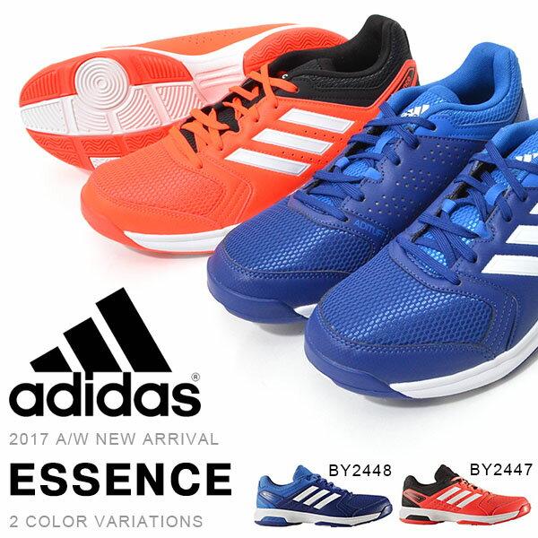 送料無料 ハンドボールシューズ アディダス adidas ESSENCE メンズ インドアコート 屋内用 シューズ 靴 2017秋冬新作 BY2447 BY2448