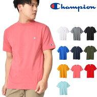 半袖TシャツチャンピオンChampionメンズT-SHIRTワンポイントクルーネックスポーツカジュアル2019春夏新作20%OFFC3-P300
