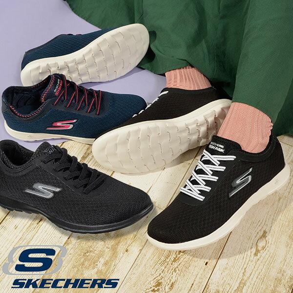 スリッポン スニーカー スケッチャーズ SKECHERS レディース ゴーウォーク ライト インパルス GO WALK LITE-IMPULSE シューズ 靴 ウォーキング 15350 得割20