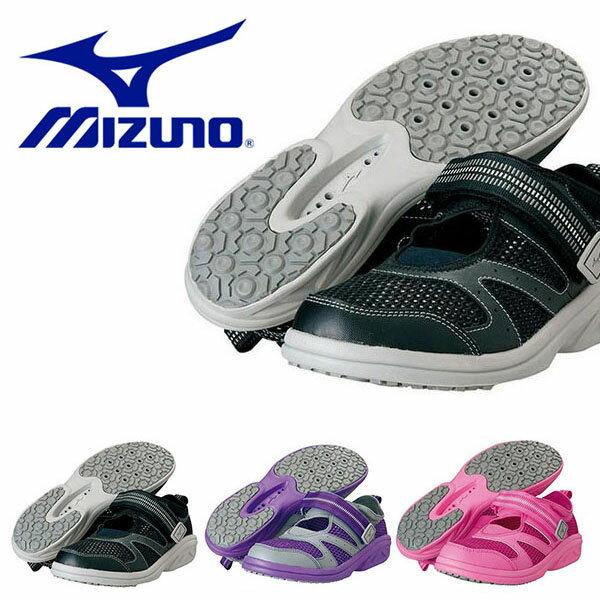 アクアウォーキング専用シューズ ミズノ MIZUNO メンズ レディース フィットネスシューズ プール ジム フィットネス 水中ウォーキング アクアウォーキング シューズ 靴