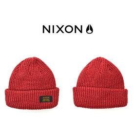 現品限り ニット帽 NIXON ニクソン メンズ レディース WARRANT BEANIE タグ付き ビーニー 帽子 ぼうし ニットキャップ スケートボード ストリート 得割40