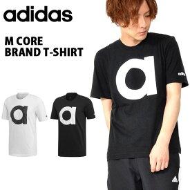半袖 Tシャツ アディダス adidas メンズ M CORE ブランドTシャツ メンズ ビッグロゴ スポーツウェア ランニング ジョギング トレーニング ウェア ジム 2019夏新作 得割25 FSG32