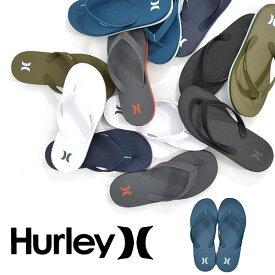 ビーチサンダル HURLEY ハーレー メンズ ONE&ONLY SANDAL ロゴ ビーサン トングサンダル サンダル プール 海水浴 アウトドア マリンスポーツ ビーチ AR5506 30%off