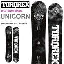 送料無料 TORQREX トルクレックス ボード UNICORN ユニコーン 板 スノーボード メンズ 紳士 2017-2018冬新作 スノボ …