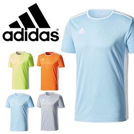 半袖 Tシャツ アディダス adidas キッズ JR ENTRADA18 トレーニングシャツ プラクティスシャツ ゲームシャツ サッカー フットサル フットボール スポーツウェア EEE64 得割23