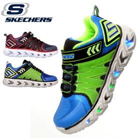 光る靴 キッズ スニーカー スケッチャーズ SKECHERS S LIGHTS エスライツ ヒプノ フラッシュ 2.0 スリッポン シューズ 靴 子供 ベルクロ ライトアップシューズ 90585L 得割20