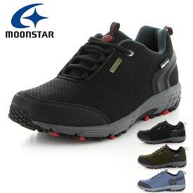 防水 スニーカー ムーンスター サプリスト MoonStar SPLT SDM02 メンズ アウトドアスニーカー 4E 幅広 シューズ 靴 透湿防水 ドライで快適 アウトドア ウォーキング SPLT-SDM02 得割20