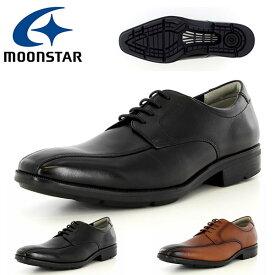 送料無料 ビジネスシューズ ムーンスター MoonStar メンズ バランスワークス 革靴 スワール 外羽根 3E 幅広 ワイド シューズ 靴 本革 レザー 抗菌防臭 SPH4630BC