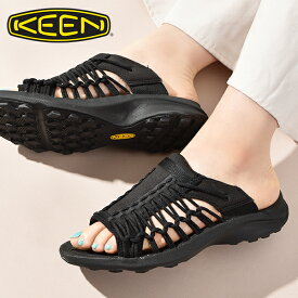 30%off 送料無料 キーン サンダル 靴 レディース KEEN ユニーク スニーク スライド UNEEK SNK SLIDE ブラック 黒 2021春夏新作 1024888【あす楽対応】