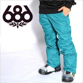 【すぐ使える100円割引クーポン配布中!】 送料無料 スノーボードウェア 686 SIX EIGHT SIX シックスエイトシックス Authentic Smarty Slim Platform Pant メンズ パンツ スノボ ボトムス L4W206 得割40