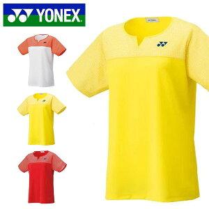 ヨネックス YONEX 半袖 ゲームシャツ レディース ユニフォーム バドミントン ソフトテニス テニス 試合 ユニフォーム スポーツウェア テニスウェア バドミントンウェア UVカット 吸汗速乾 20541