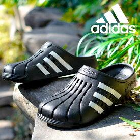 送料無料 アディダス サンダル メンズ レディース adidas ADILETTE CLOG U クロッグサンダル シューズ 靴 3本ライン 2021春新作 FY8969 FY8970