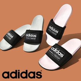 送料無料 アディダス サンダル adidas メンズ レディース ADILETTE ECO スポーツサンダル シャワーサンダル サンダル スポーツ ジム 2021夏新作 FZ1700 FZ1701